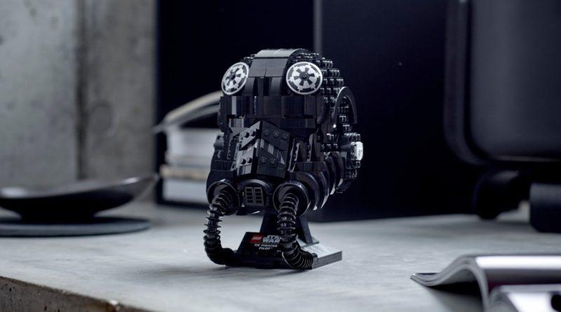 LEGO Star Wars 75274 TIE Fighter Pilot Helmet featured 2