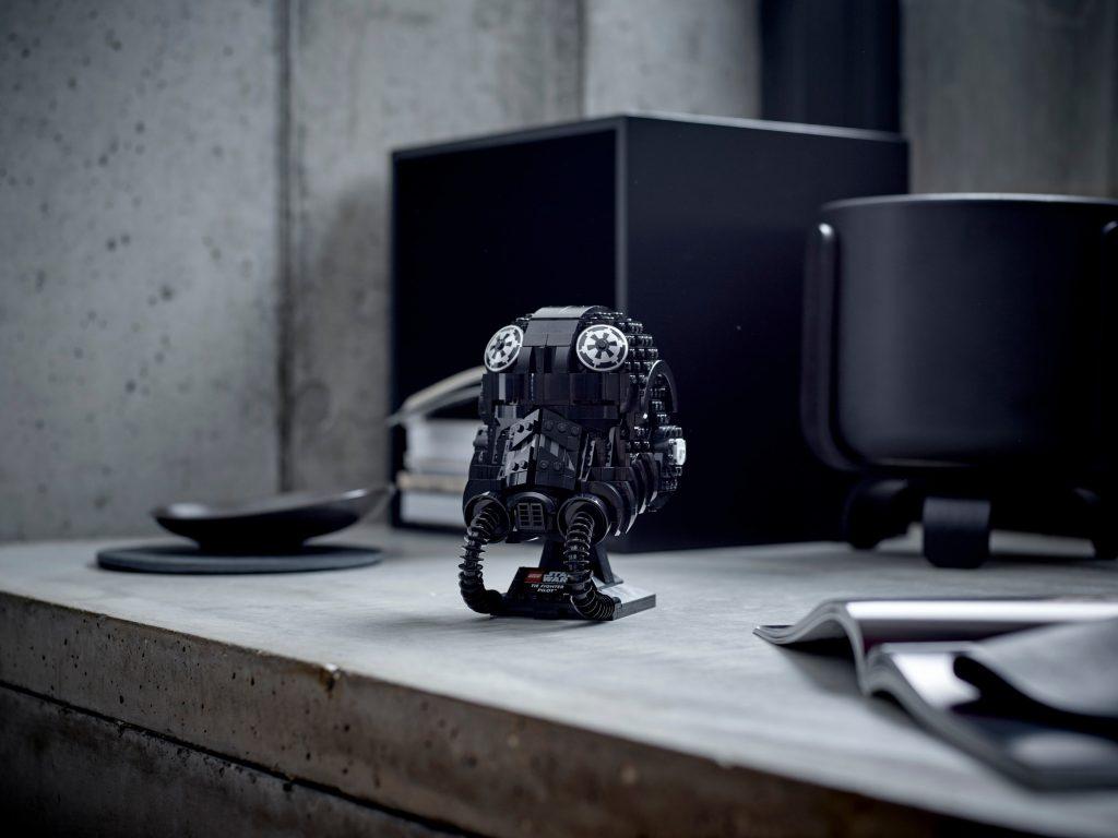 LEGO Star Wars 75274 TIE Fighter Pilot Helmet