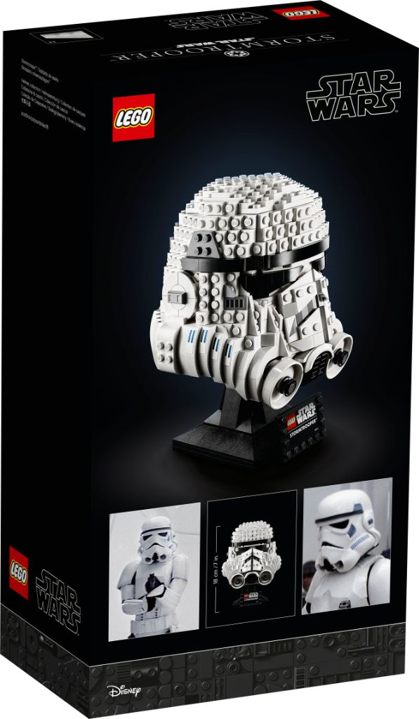 LEGO Star Wars 75276 Stormtrooper Helmet 2