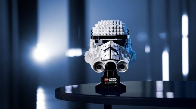 LEGO Star Wars 75276 Stormtrooper Helmet Featured 800x445