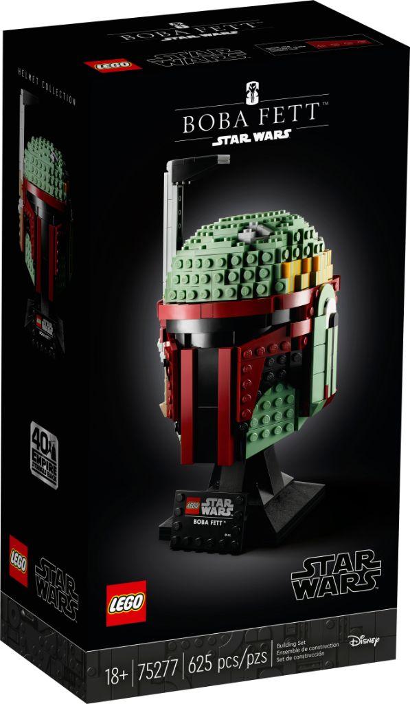 LEGO Star Wars 75277 Boba Fett Helmet 3