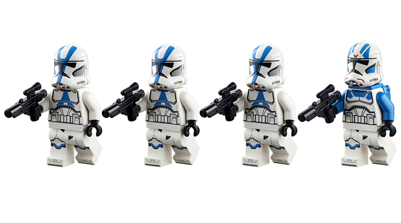 LEGO Star Wars 75280 501st CLone Troopers 2 Featured