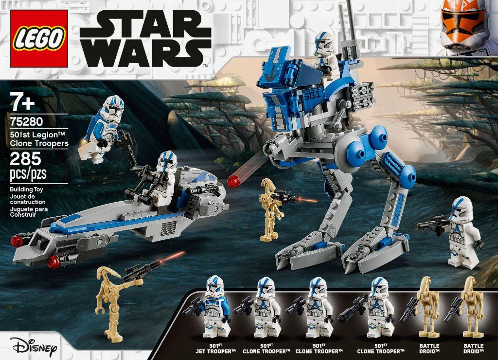 LEGO Star Wars 75280 501st Legion Clone Troopers 13