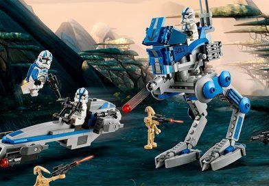 LEGO Star Wars 75280 501st Legion Clone Troopers set revealed