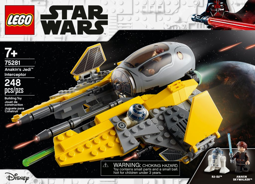 LEGO Star Wars 75281 Anakins Jedi Interceptor 10