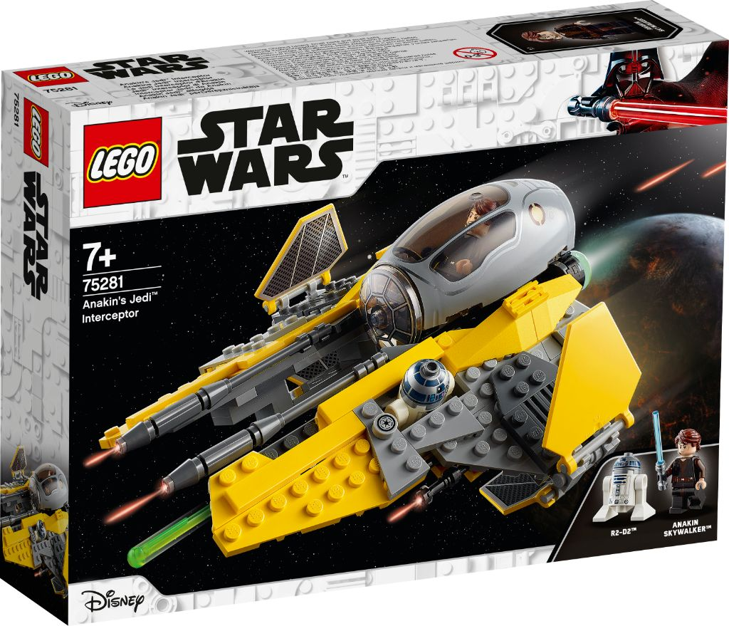 LEGO Star Wars 75281 Anakins Jedi Interceptor 5