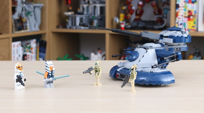 LEGO Star Wars 75283 Armored Assault Tank Review Title 800x445