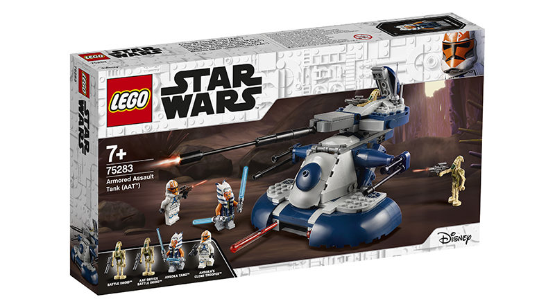 LEGO Star Wars 75283 LEGO Star Wars Armored Assault Tank AAT Featured 2 800x445