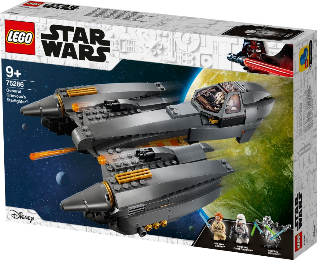 LEGO Star Wars 75286 General Grievouss Starfighter 10