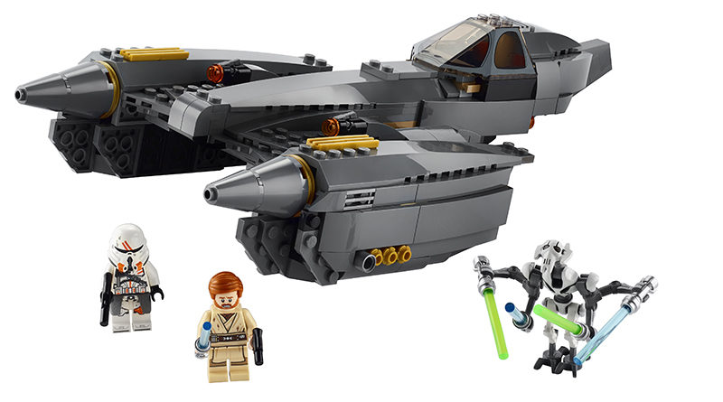 LEGO Star Wars 75286 General Grievouss Starfighter Featured 800x445
