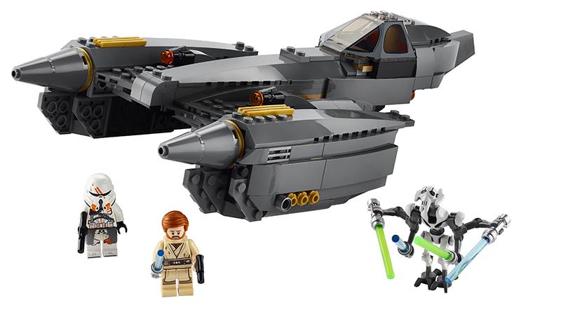 LEGO Star Wars 75286 General Grievouss Starfighter Featured
