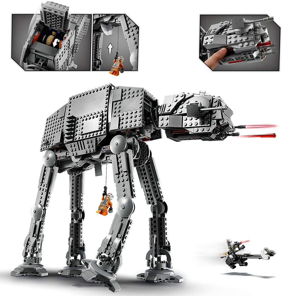LEGO Star Wars 75288 AT AT Walker 3