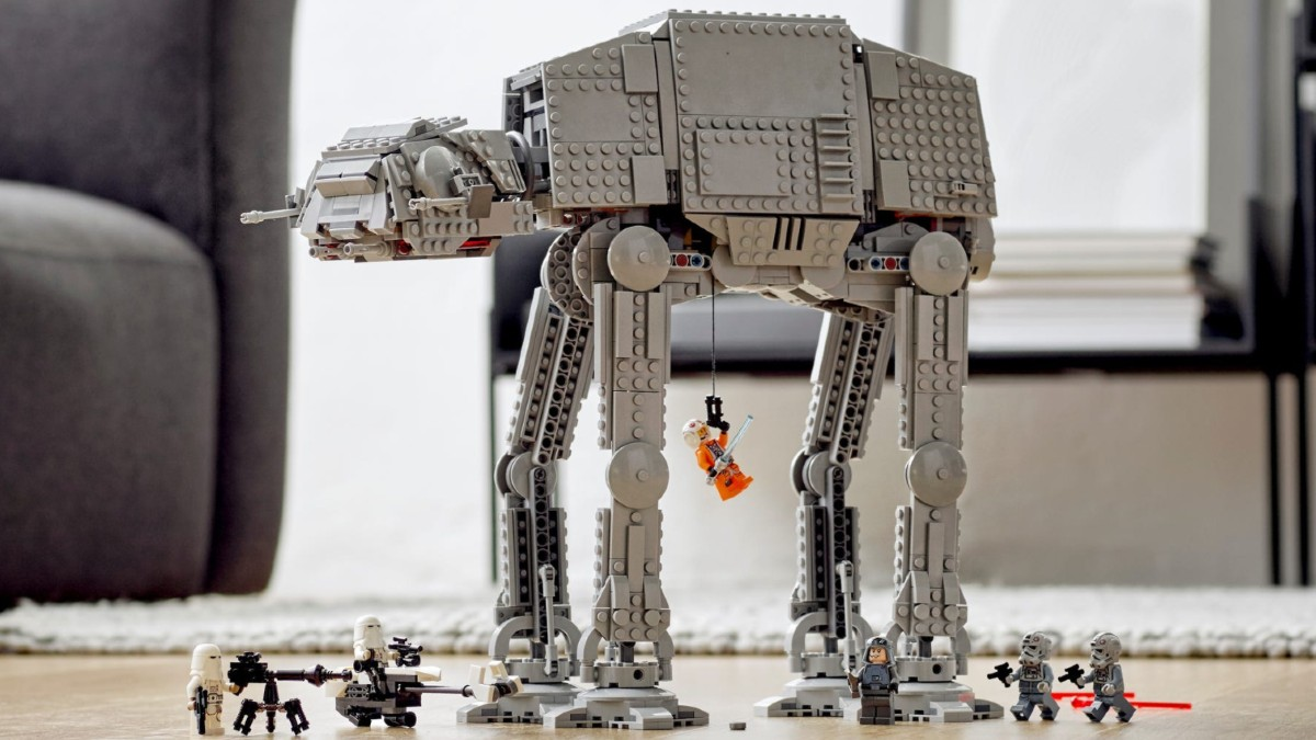 LEGO Star Wars 75288 AT AT Lifestyle 1 Resized Featured