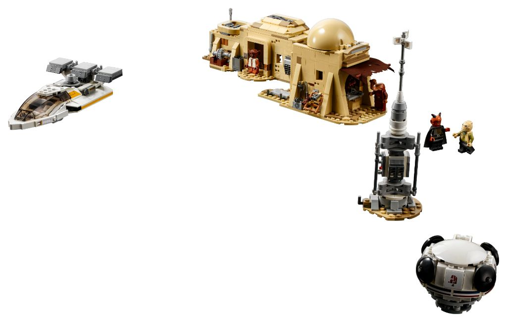 LEGO Star Wars 75290 Mos Eisley Cantina 13