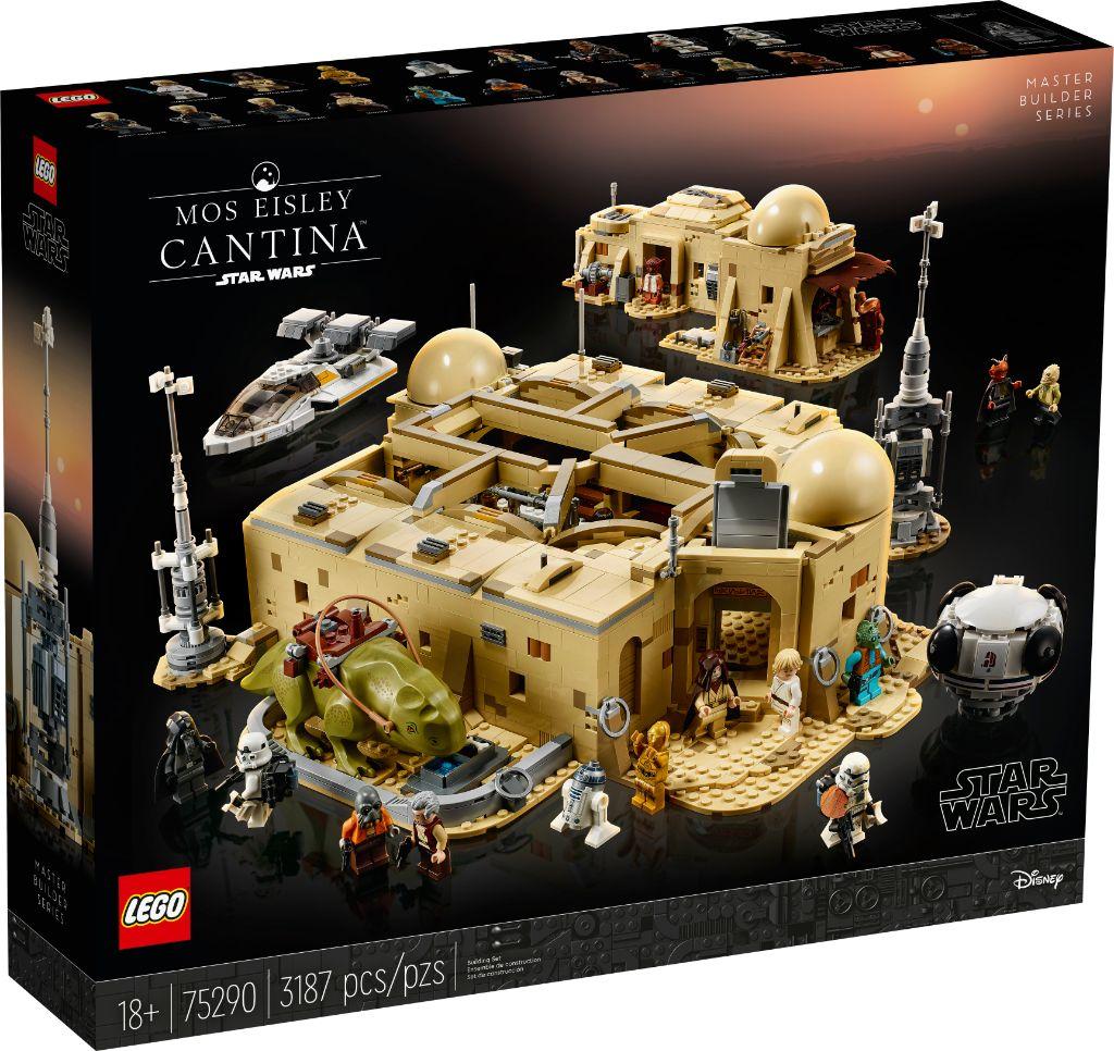 LEGO Star Wars 75290 Mos Eisley Cantina 7