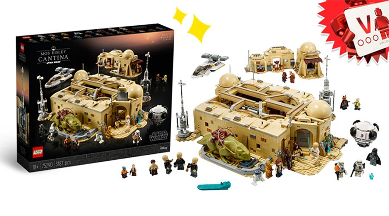 LEGO Star Wars 75290 Mos Eisley Cantina Featured