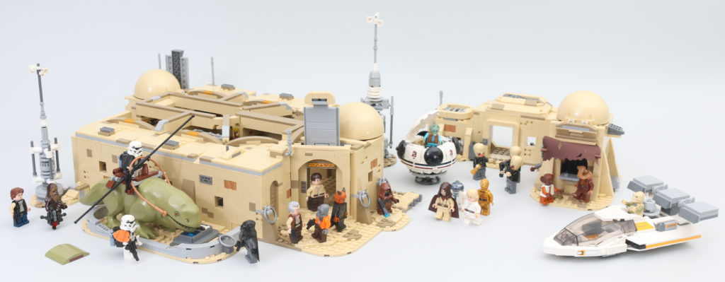 LEGO Star Wars 75290 Mos Eisley Cantina Review 78