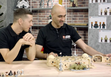 Behind-the-scenes of LEGO Star Wars 75290 Mos Eisley Cantina