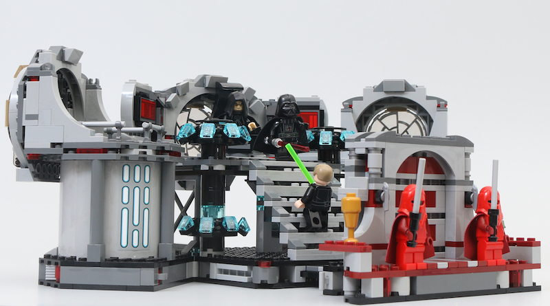 LEGO Star Wars 75291 Death Star Final Duel review title