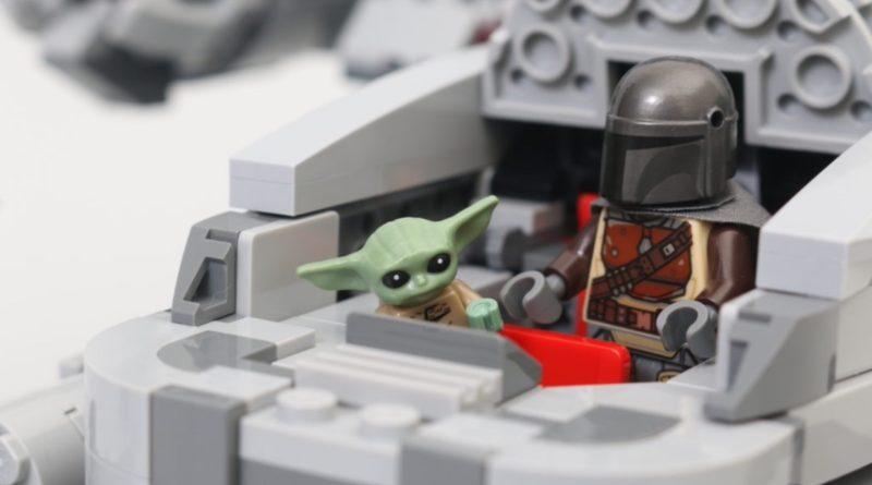 LEGO Star Wars 75292 The Mandalorian Bounty Hunter Transport La recensione di Razor Crest è stata ridimensionata di 2