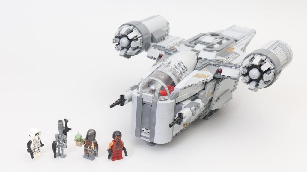 LEGO Star Wars 75292 The Mandalorian Bounty Hunter Transport The Razor Crest title image 1 1200x675 1