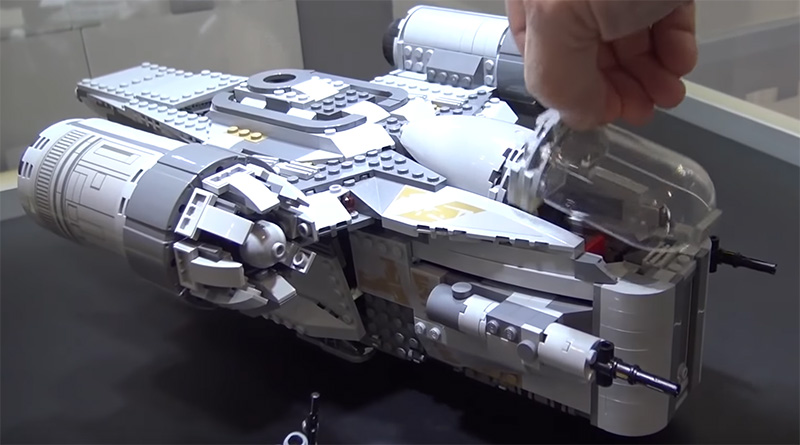 LEGO Star Wars 75292 The Razor Crest Video Featured 800 445
