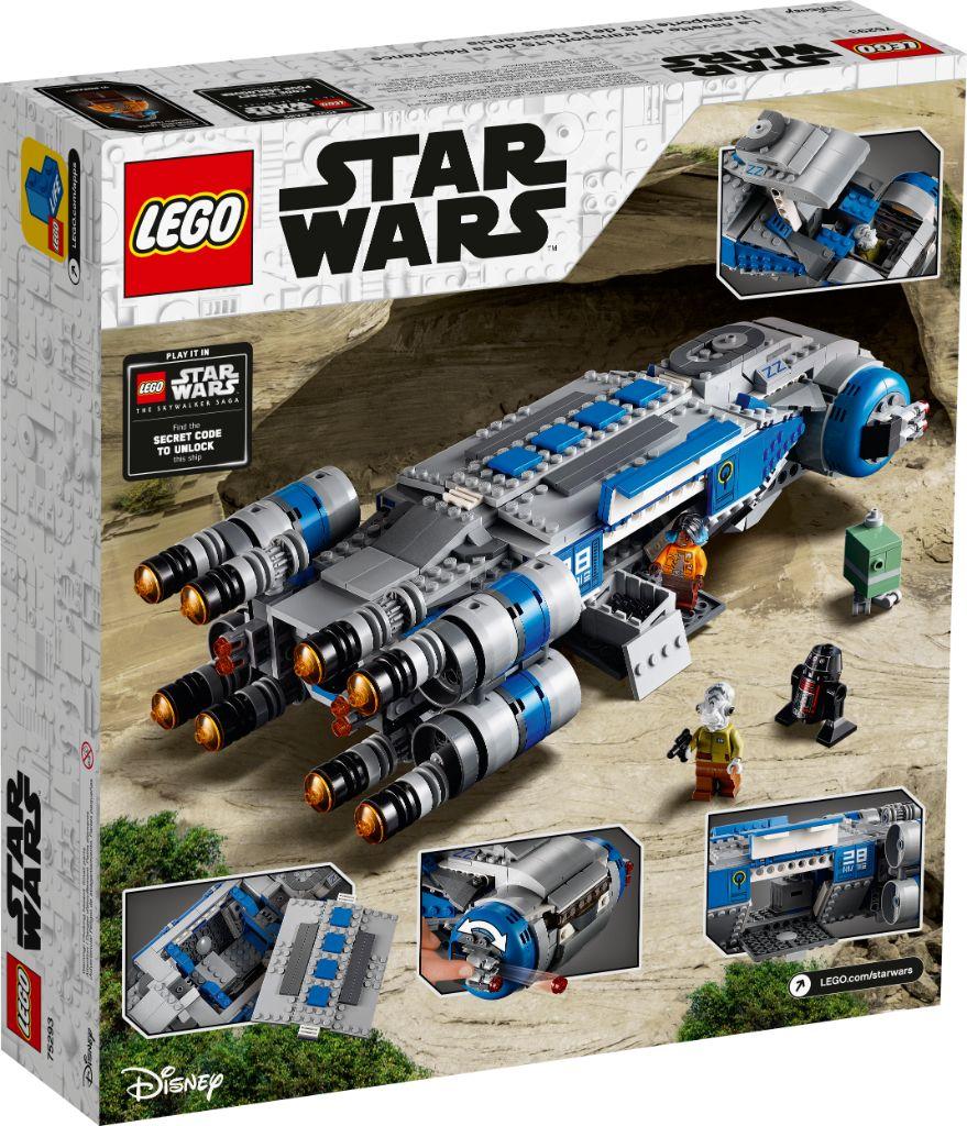 LEGO Star Wars 75293 Resistance I TS Transport 17