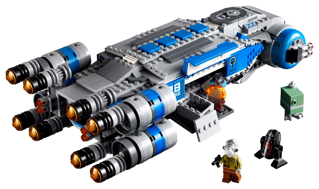 LEGO Star Wars 75293 Resistance I TS Transport 2