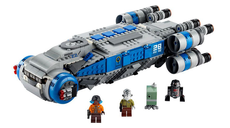 LEGO Star Wars 75293 Resistance I TS Transport Featured 800x445