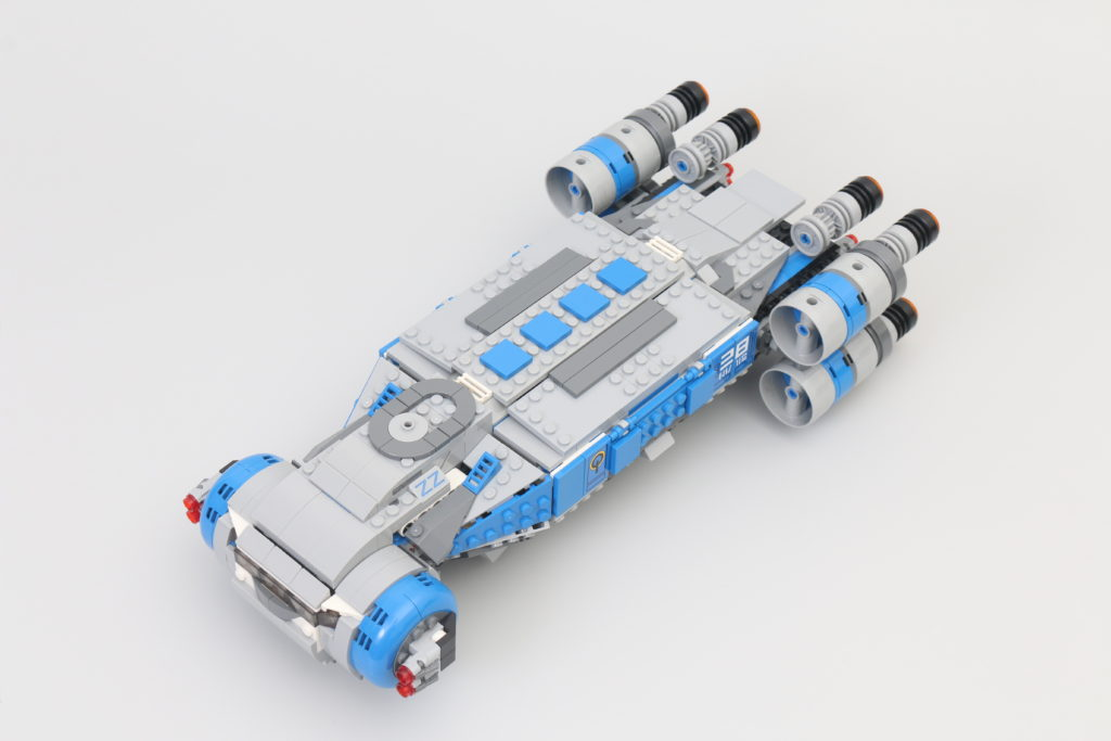 LEGO Star Wars 75293 Resistance I TS Transport Review 16
