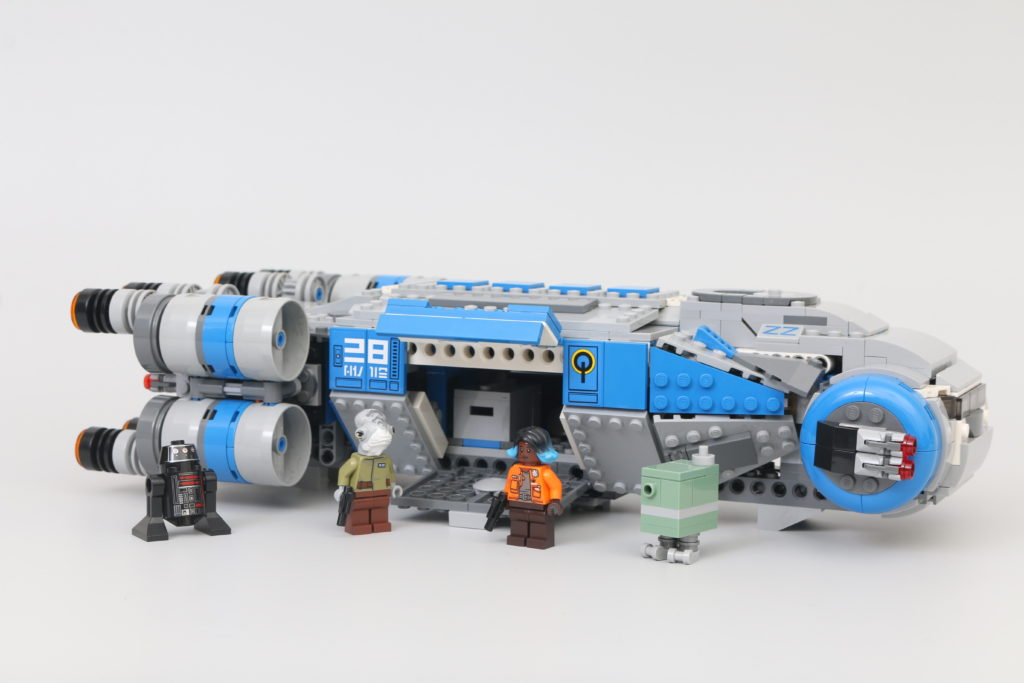 LEGO Star Wars 75293 Resistance I TS Transport Review 5