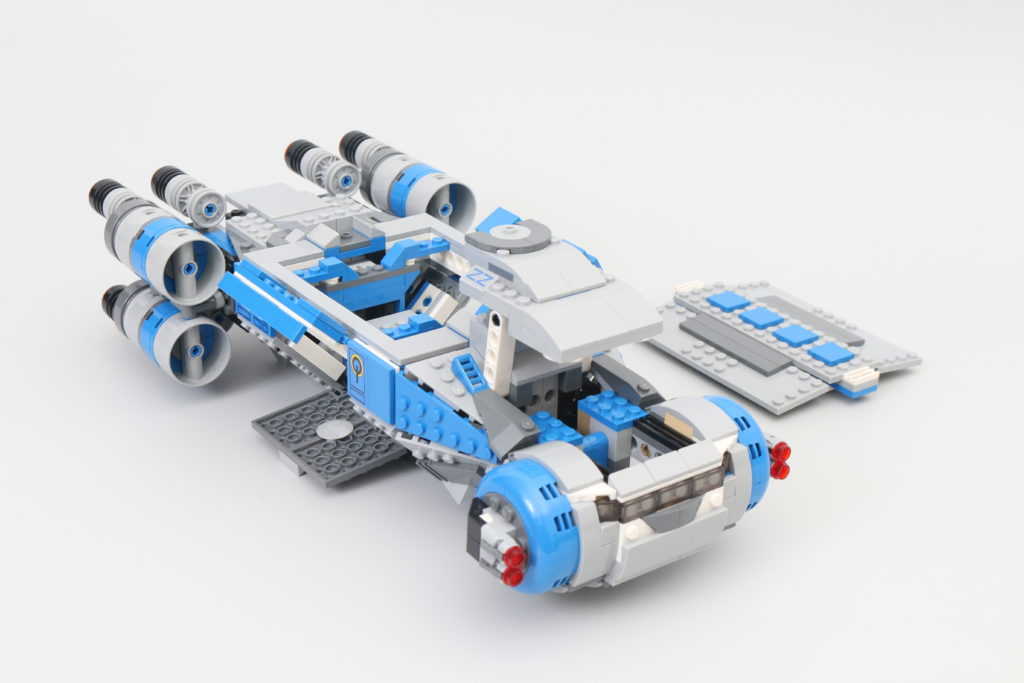 LEGO Star Wars 75293 Resistance I TS Transport Review 7