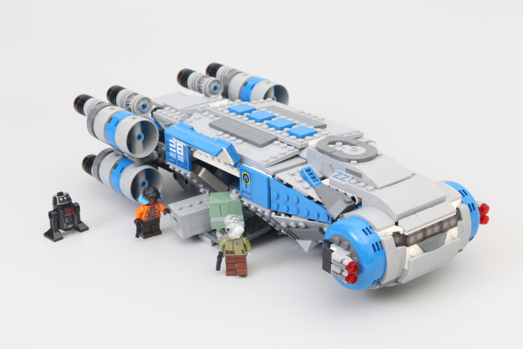 LEGO Star Wars 75293 Resistance I TS Transport Review Main