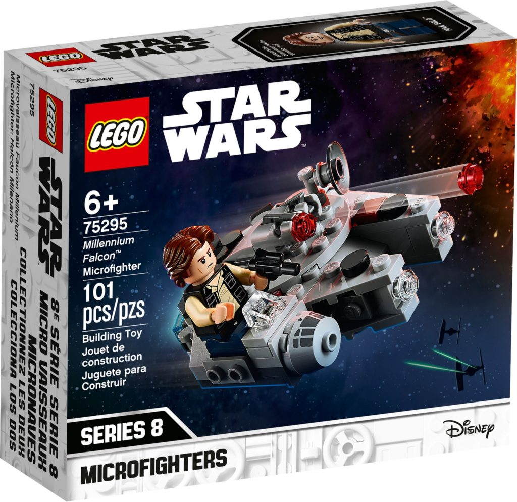 LEGO Star Wars 75295 Millennium Falcon Microfighter 2