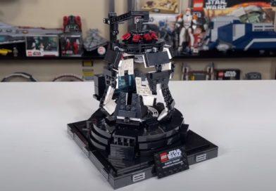 First Look at LEGO Star Wars 75296 Darth Vader Meditation Chamber