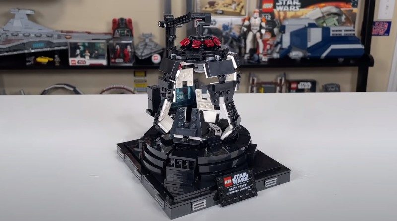 LEGO Star Wars 75296 Darth Vaders Meditation Chamber first look featured