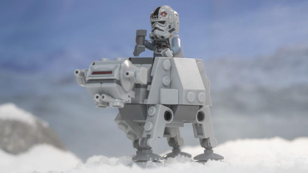 LEGO Star Wars 75298 AT AT Vs Tauntaun 16
