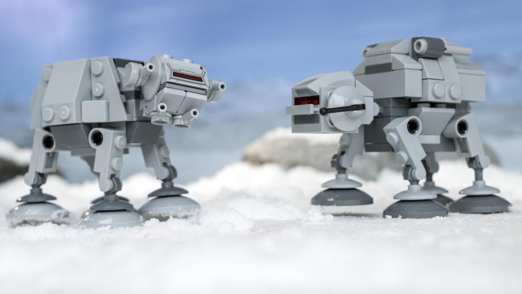LEGO Star Wars 75298 AT AT Vs Tauntaun 19