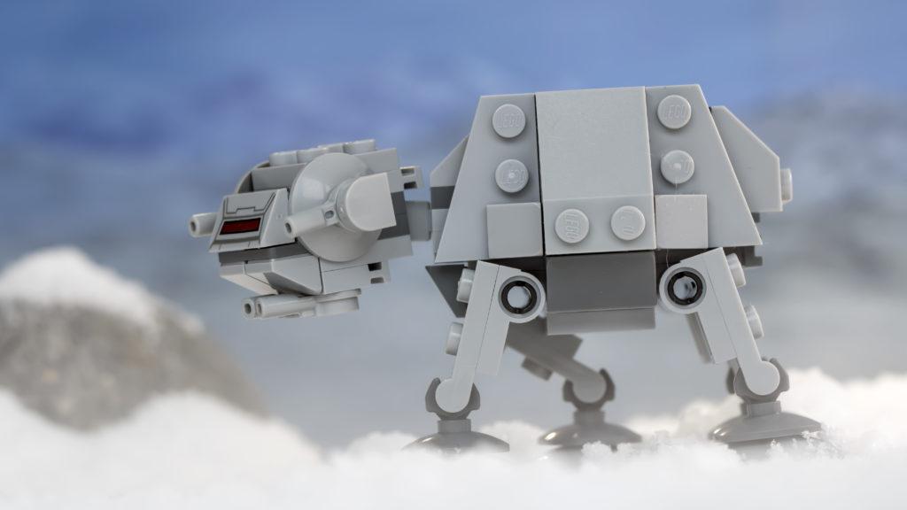 LEGO Star Wars 75298 AT AT Vs Tauntaun 20
