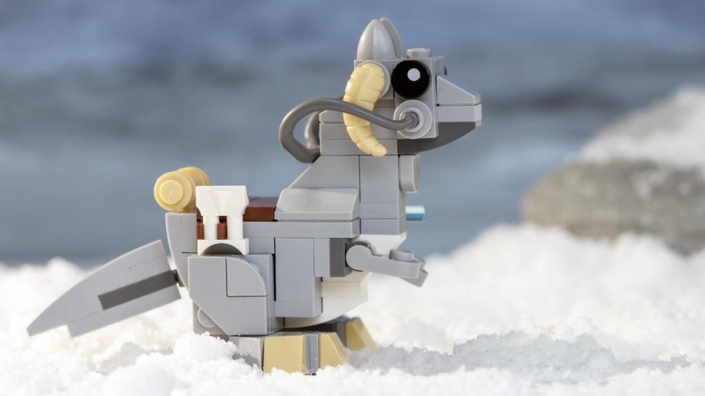 LEGO Star Wars 75298 AT AT Vs Tauntaun 22