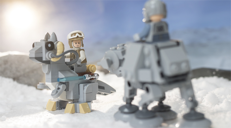 LEGO Star Wars 75298 AT AT Vs Tauntaun FEATURED Resized