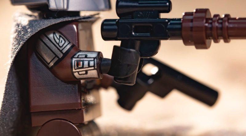 LEGO Star Wars 75299 Trouble on Tatooine arm printing