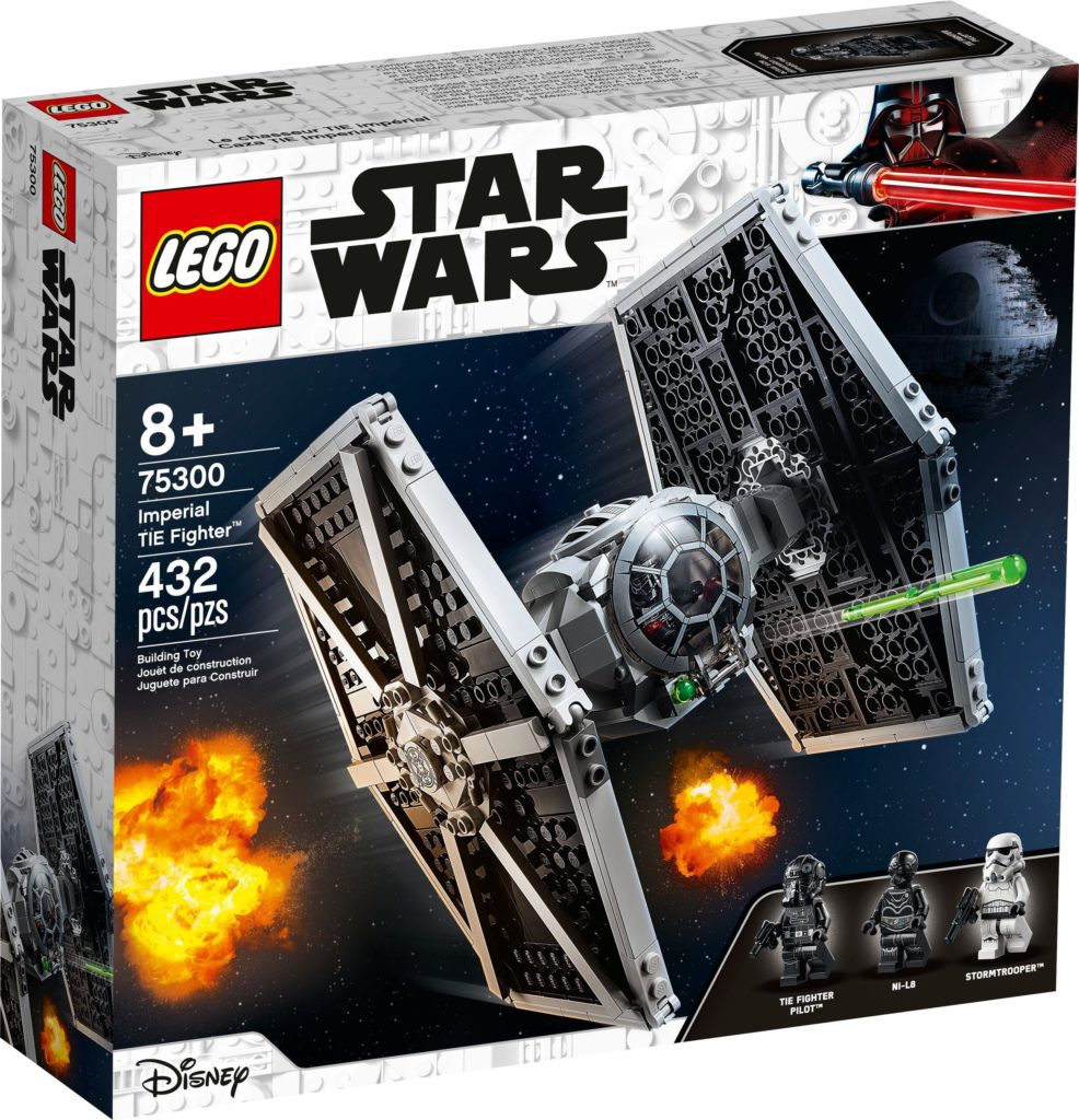 LEGO Star Wars 75300 Imperial TIE Fighter 1