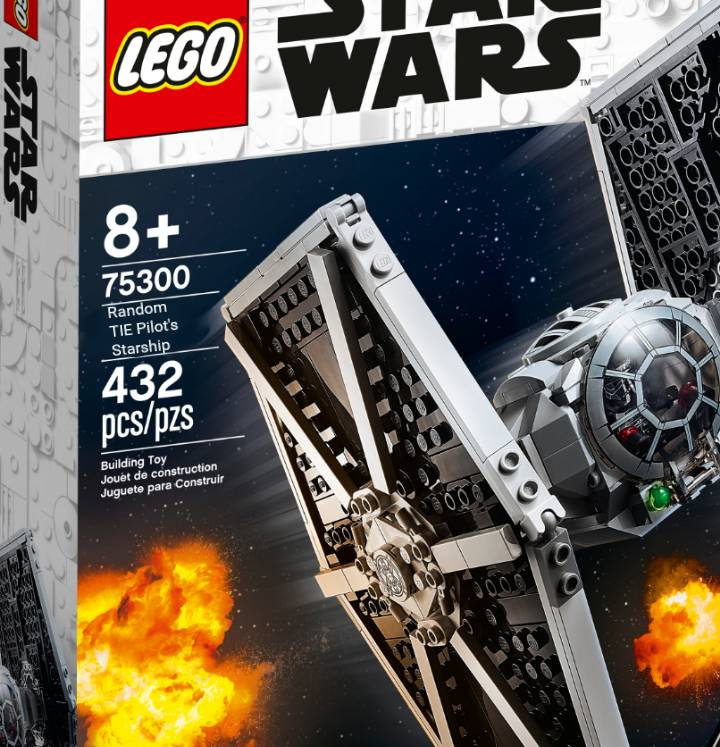 LEGO Star Wars 75300 Imperial TIE Fighter name meme