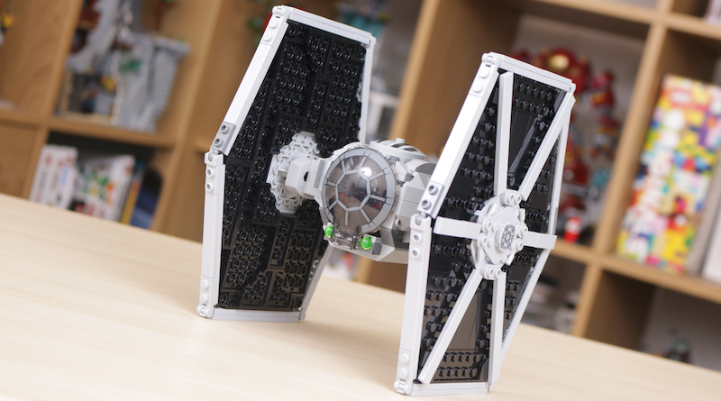LEGO Star Wars 75300 Imperial TIE Fighter Review Title