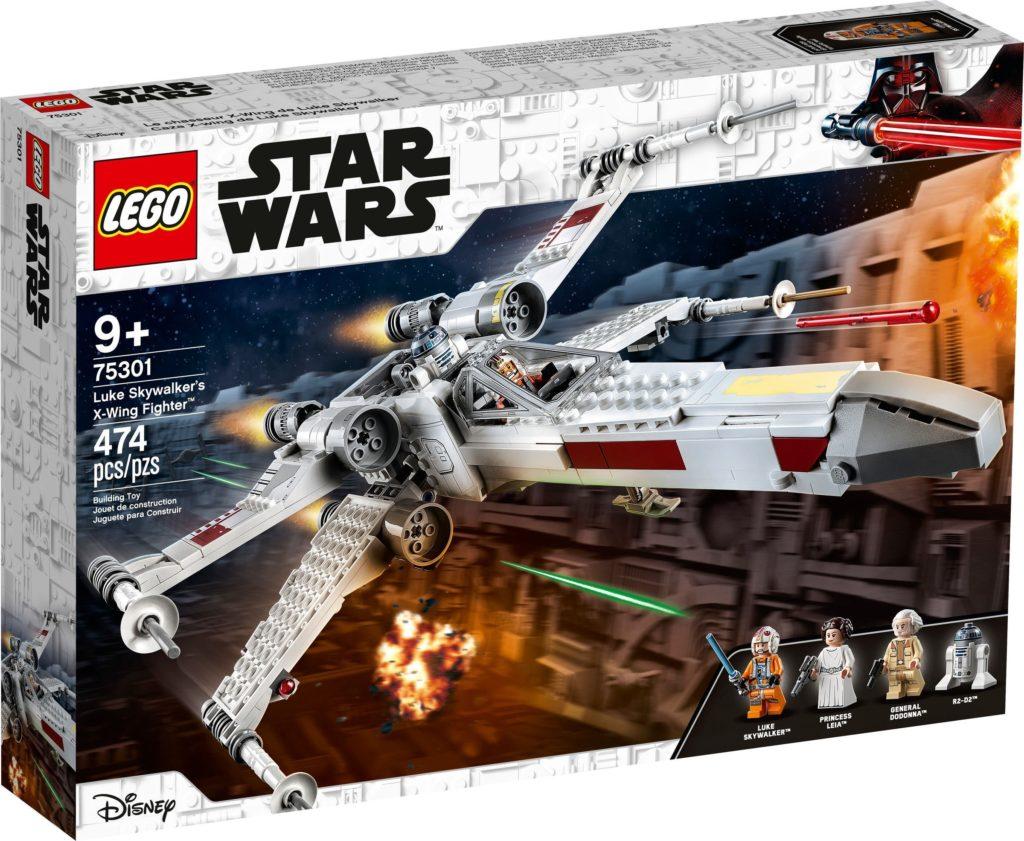 LEGO Star Wars 75301 Luke Skywalker X Wing Starfighter 1