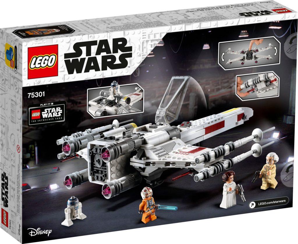 LEGO Star Wars 75301 Luke Skywalker X Wing Starfighter 2