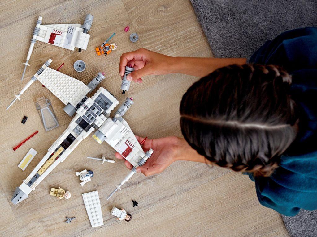 LEGO Star Wars 75301 Luke Skywalker X Wing Starfighter 3