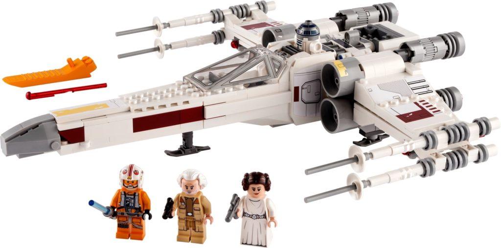 LEGO Star Wars 75301 Luke Skywalker X Wing Starfighter 6