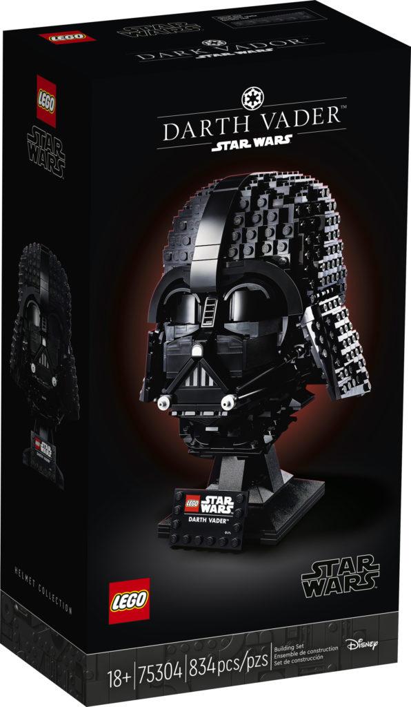 LEGO Star Wars 75304 Darth Vader Helmet 3